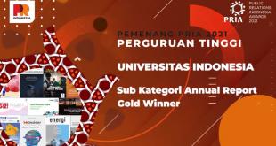 UI Raih Gold Winner