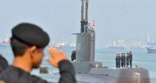 kapal selam TNI Angkatan Laut (AL) KRI Nanggala 402