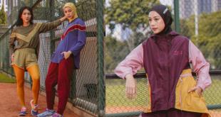 Kolaborasi athleisure wear gaya retro 80-an dari Nona dan Noore