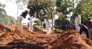 Ilustrasi penguburan korban yang tewas karena Covid-19 di Amerika Latin (Foto file - Anadolu Agency)
