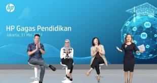 Presentasi tentang inisiatif edukasi HP Indonesia, oleh Frans Adiredja, Business Personal System Category Head, HP Indonesia (ist)
