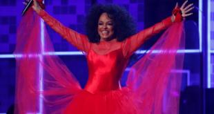 Diana Ross tampil di Grammy Award ke-61, Los Angeles, California, AS, 10 Februari 2019 (REUTERS/Mike Blake)
