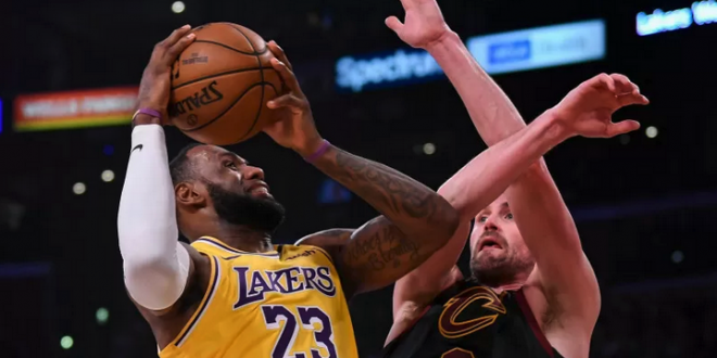 Pemain Cleveland Cavaliers Kevin Love