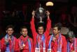 Berikut Daftar Juara Piala Thomas