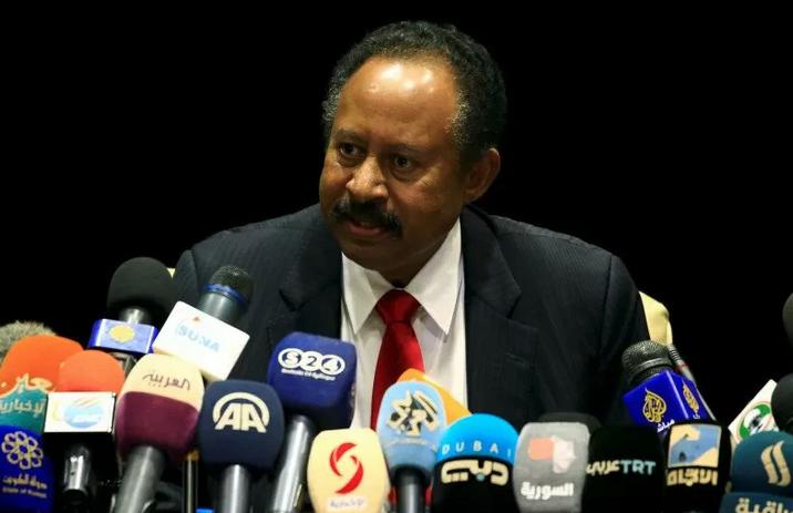 Arsip--PM Sudan Abdalla Hamdok