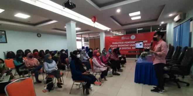 Sudin Jakarta Pusat dan Shopee Kolaborasi Gelar Pelatihan Kewirausahaan